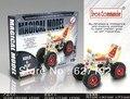 Brinquedos de madeira forjar Diy mundo liga Metal 3d montagem modelo de praia brinquedos educativos Atv motocicleta 101 peças B43 026