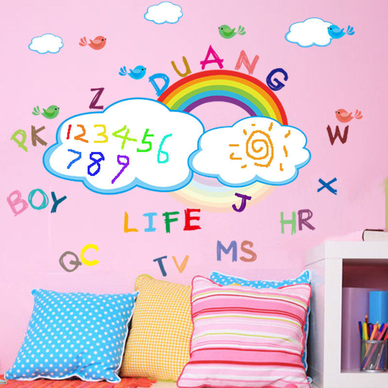 Popular Rainbow Wall Sticker Buy Cheap Rainbow Wall