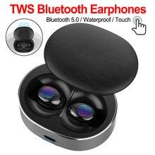 Bluetooth 50 беспроводные наушники tws стерео гарнитура Мини