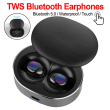 Bluetooth 5.0 Wireless Earbuds TWS Stereo Headset Mini Earphone Auto fast Pair Noise Cancelling Handfree for iPhone Xiaomi