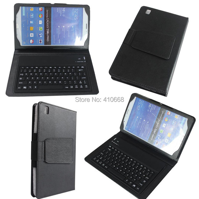 meet fc98d b0745 US $20.99 |3 in 1 Wireless Bluetooth Keyboard Case for Samsung Galaxy Tab 4  8.0 T330 Tablet + Stylus + Screen Protector-in Tablets & e-Books Case from  ...