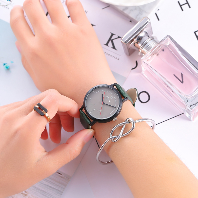 Hot Sale Women Watches Geneva Watch Small Faux Leather Quartz Analog Wrist Watch Ladies Bracelet Watch stylish zinc alloy quartz analog wrist watch bracelet for women golden multicolored 1 x 626