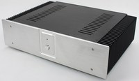 WA60 All aluminum amplifier chassis / Preamplifier case / AMP Enclosure DIY box (430 *110*312mm)