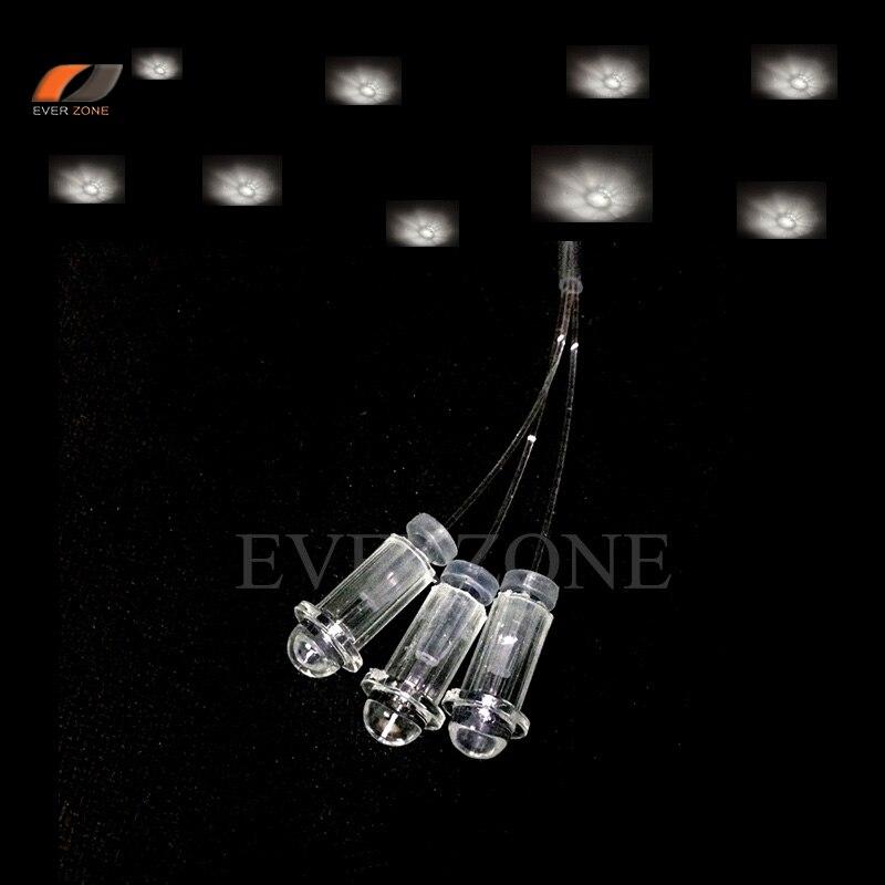 Luzes de Teto de Fibra óptica de Plástico Acessórios Extremidade do Cabo de Luz de Fibra Óptica 0.75mm/1.0mm/1.5mm fixo Plugger