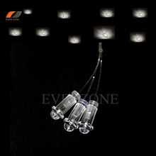 Optic Fiber Lights Ceiling Plastic End Fittings with Optic Fiber Light Cable 0.75mm/1.0mm/1.5mm Fixed Plugger недорого