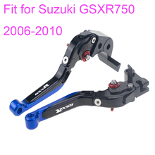 KODASKIN Folding Extendable Brake Clutch Levers for Suzuki GSXR750 2006-2010 цена 2017