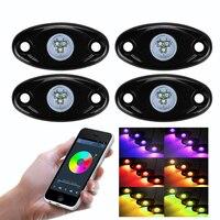 4ฝักRGB LEDร็อคไฟTiming