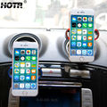 Duplo Rotativo Suporte Do Telefone Do Carro Tomada Profissional Suporte de Montagem Montar Entrada de Ar Suporte para Carro Universal Do Telefone Móvel GPS Exibição