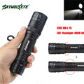 4000LM Zoomable CREE XM-L T6 LED High Power Flashlight Torch Lamp 5 Modes L70201