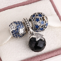 Fits Pandora Charms Bracelet And Necklace 925 Sterling Silver Charm Sets Newest Christmas Gift Beads Women
