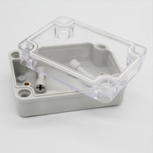 Project Waterproof PC Transparent Cover ABS Body box IP66 Terminal Box Plastic Distribution Enclosure 80*110*45mm DS-AT-0811-S