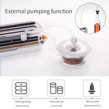TINTON LIFE Food Vacuum Sealer Packaging Machine With 10pcs Bags Free Vacuum Food sealing machine vacuum sealer packer