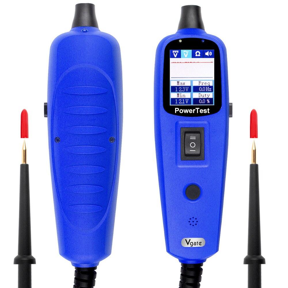 Цена за Функция же как PS100 автомобиль электрической системы Vgate Мощность сканирования Pt150 Мощность зонд автомобильная электрическая цепь тестер