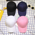 Placa de luz ala curva sólido snapback gorra de béisbol benn sombrero de hip-hop 8 colores m84