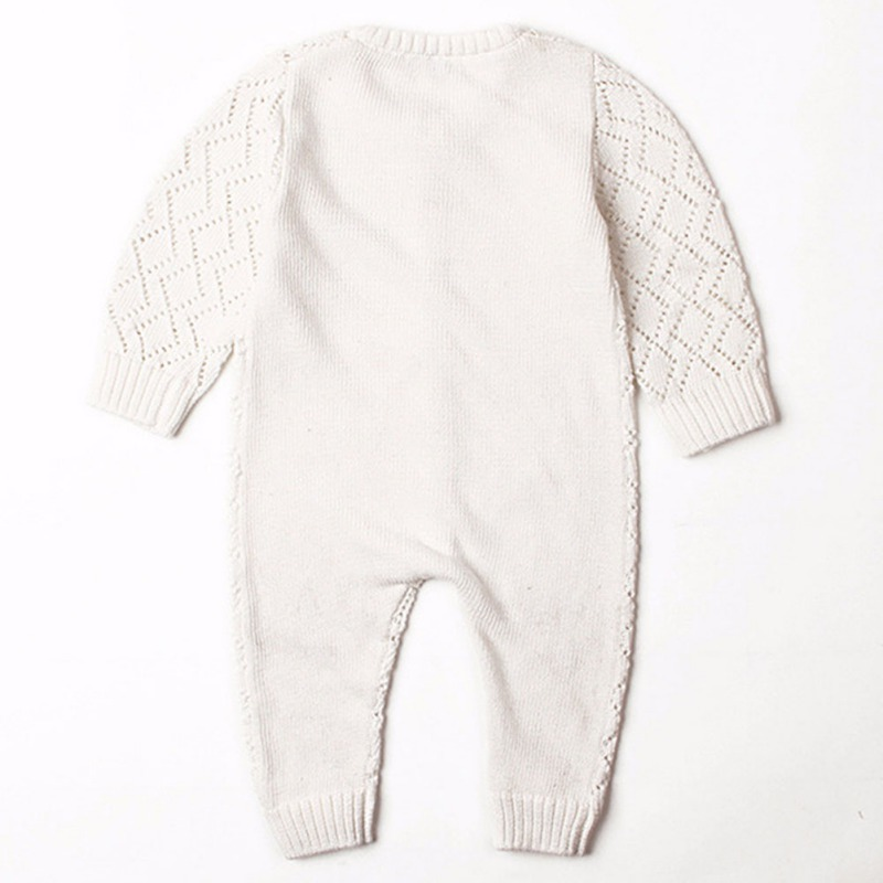 HTB1d1KmayLrK1Rjy1zdq6ynnpXaX 2019 Newborn baby boy rompers Toddler Jumpsuit Girls Candy Color Knitted Baby Clothes Infant Boy Overall Children Outfit Spring