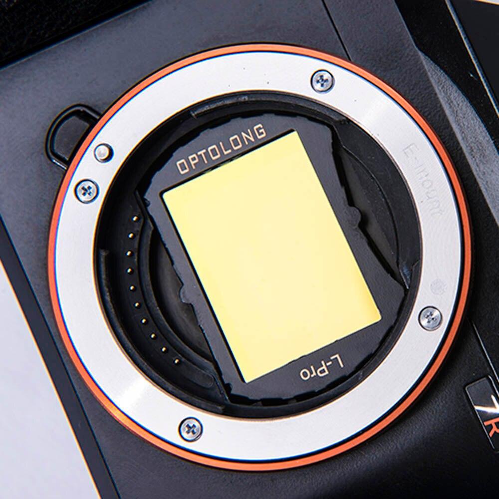 optolong l pro sony ff para astrofotografia filtros de poluicao de luz de campo selvagem sony