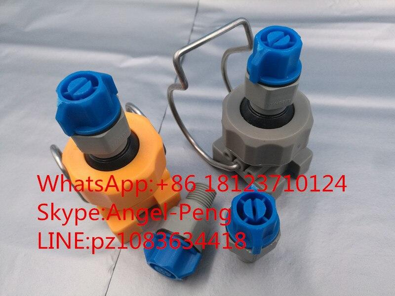 Plastic water flat fan vee jet pcb spray nozzle