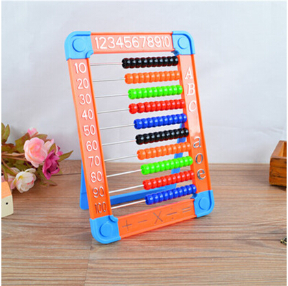 Free shipping 6pcs/lot Baby toy abacus,Educational Math Toys,Childrens Day best giftFree shipping 6pcs/lot Baby toy abacus,Educational Math Toys,Childrens Day best gift