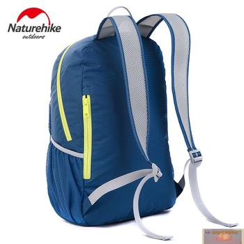 NatureHike Factory Store Folding Backpack Outdoor Ultra Light Backpack Men Women portable Waterproof Hiking Backpack 22L 4