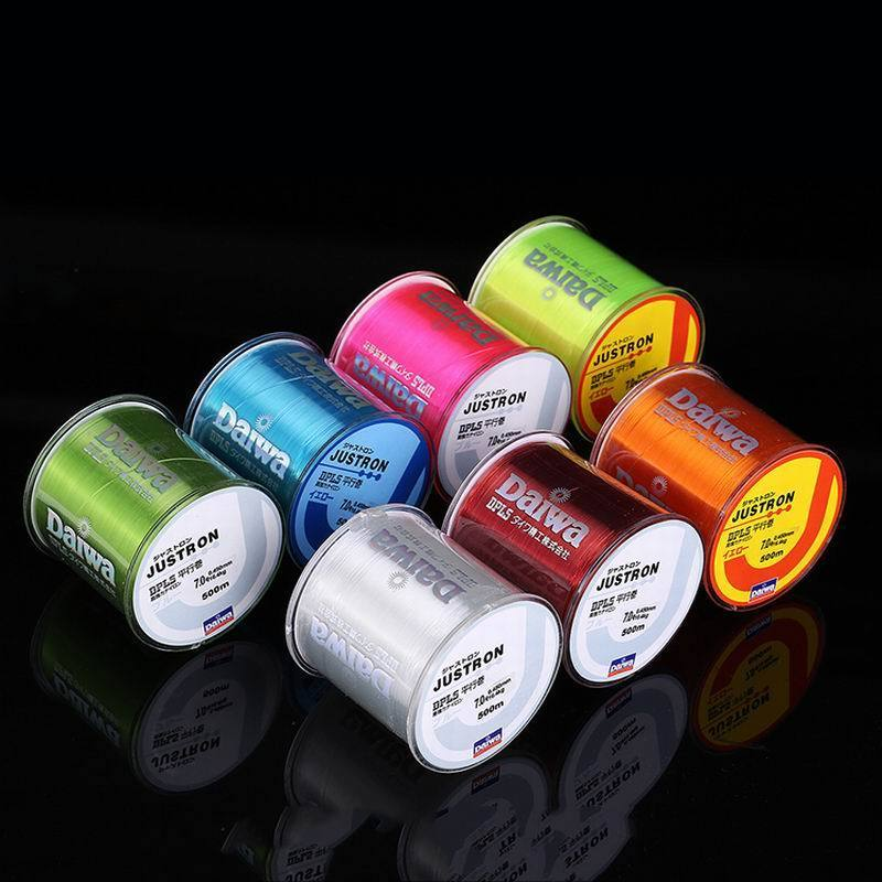 500m Nylon Fishing Line Japanese Durable Monofilament Rock Sea Fishing Line Daiwa Thread Bulk Spool All Size 4 Colors 0.4 to 8.0(China)