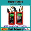 Tribrer Multímetro Fibra Óptica-70 ~ + 10dBm Handheld Fibra Óptica Power Meter + Fonte de Luz De Fibra Óptica 1310/1550nm
