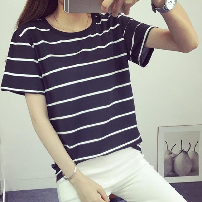 Jielur καλοκαιρινή μόδα χαλαρή Camisetas Mujer - Γυναικείος ρουχισμός - Φωτογραφία 6