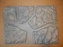 """Plastikowe formy do betonu i tynk kamień ścienny płytki cementowe """"duży kamień"""" do ściany dekoracyjnej formy plastikowe najlepsza cena"""