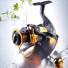 Fishing vessels TTtype metal handle spinning reels shaft without clearance sea fishing line round professional carretilha pesca