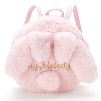 Princess sweet lolita bag Autumn and winter soft girl the same shoulder bag pink plush rabbit hair adorable cartoon girl WW002