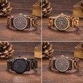 New Arrival Hot selling Wooden WristWatches Men Quartz Watch Wooden Bracelet Wrist Watch Walnut Wood Watch For Men Women Gifts