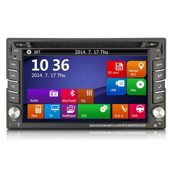 6 2 inch font b Car b font DVD GPS Navigation For Old VW Transporter T4