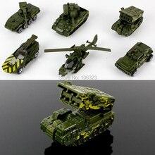 6 pcs Mini Liga Carros, Brinquedos Diecasts Veículos, modelo de Simulação de Metal Caminhões Agricultor/Esportes/Ambulância/Armado/Construção/SUV/Corrida
