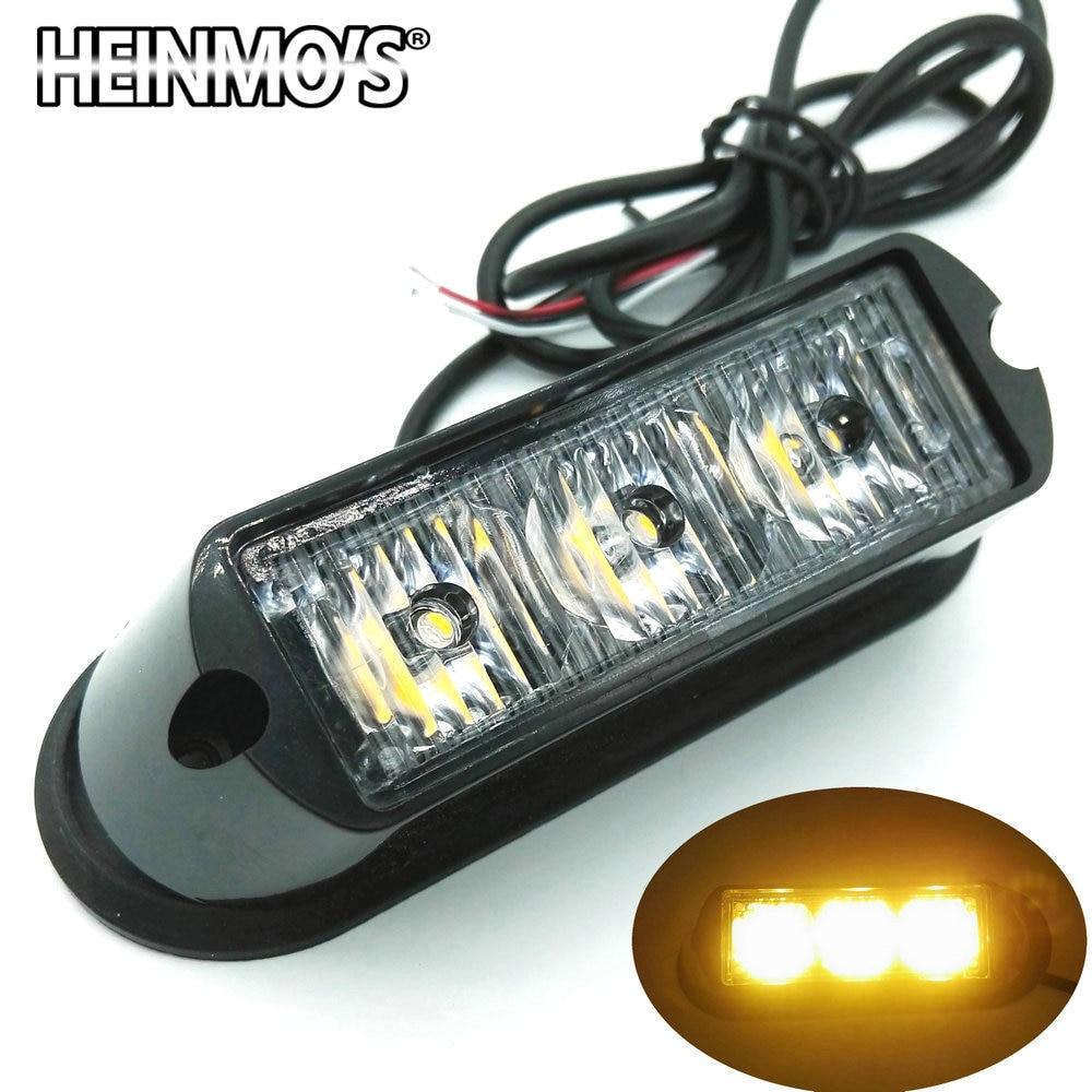 Autó LED fény 12V 24 V-os teherautóval Villogó ködlámpa - Autó világítás