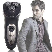 Electrique rasoir barbeador электробритвы аккумуляторные головкой бритва плавающей мощности большой мужская