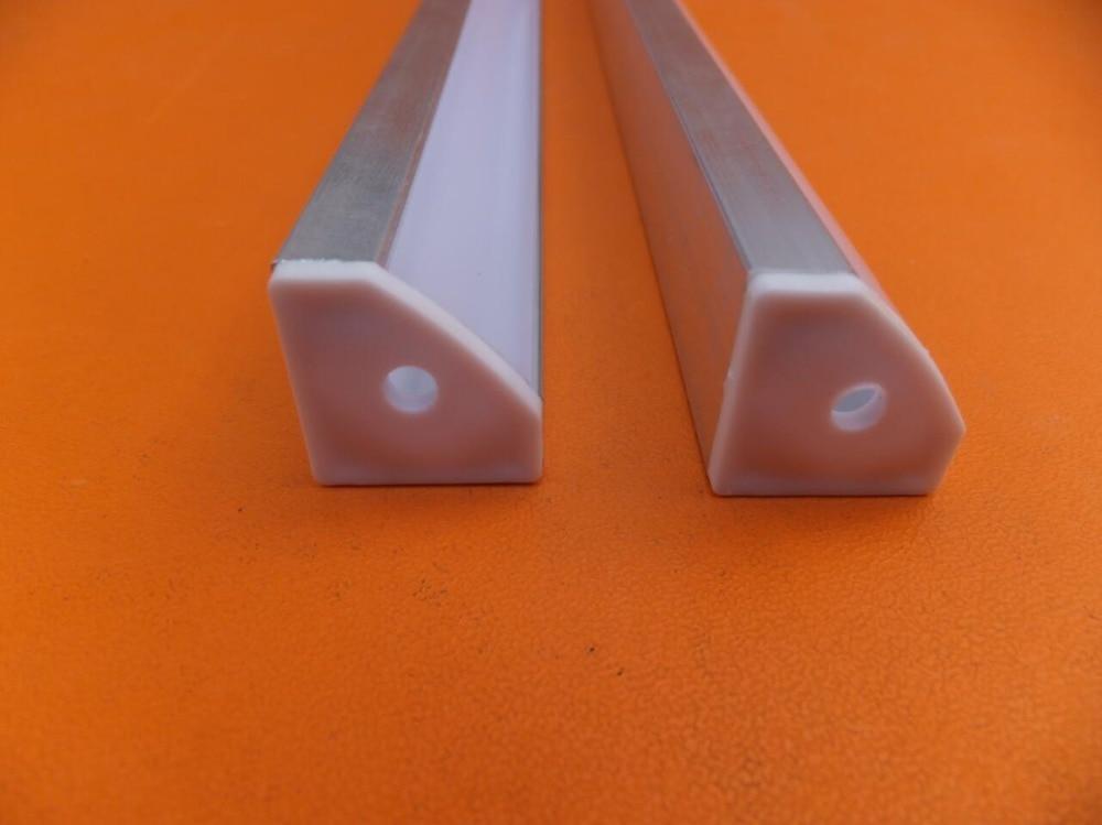 Nemokamas pristatymas 100vnt / lot 2Meter ilgio LED aliuminio - LED Apšvietimas - Nuotrauka 4