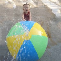 Inflatable Spray Water Ball Children's Summer Outdoor Swimming Beach Pool piscina Play The Lawn Balls zwembad Party Playing Toys