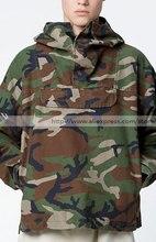Fear Of God Side Of The Fork Oversize Loose Short Cut Fog Camouflage Fabric Hooded Head Windbreaker