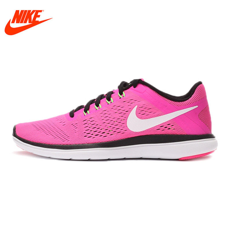 Original NIKE Summer Breathable Flex RN Women's Running Shoes Sneakers спортинвентарь nike чехол для iphone 6 на руку nike vapor flash arm band 2 0 n rn 50 078 os
