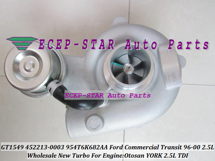 GT1549 452213 452213-0003 452213-0001 Y4T6K682AA Turbo Turbocharger For Ford Commercial Transit van YORK Otosan 1997-00 2.5L TDI