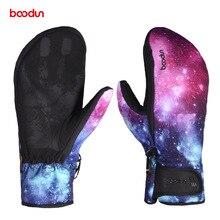 Кроссовки Новые зимние ветрозащитные водонепроницаемые перчатки для катания на лыжах утолщенные теплые лыжные перчатки для сноуборда Нескользящие зимние спортивные варежки