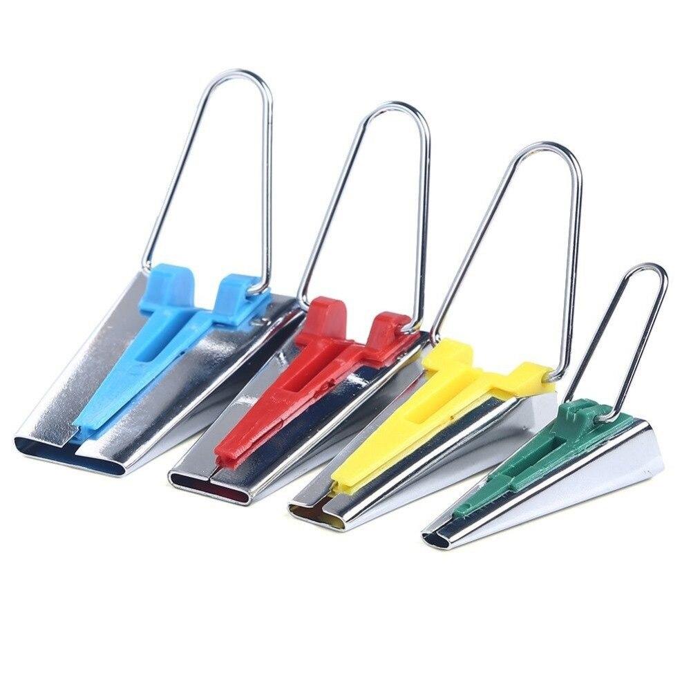4pc Parça Bias Tape Maker Bağlama Aləti Dördlü Dikiş 6mm 12mm - İncəsənət, sənətkarlıq və tikiş - Fotoqrafiya 5