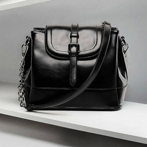 Venta caliente de moda mujeres cadenas Bucket Bag Messenger Bag