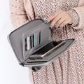 Hot Sales Female Wallets Zipper Purse Women Leather Wallet Women Fashion Multifunction Wallets Clutch carteira feminina Dollar