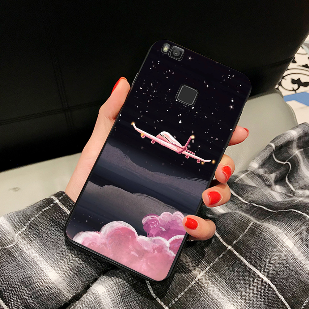 EKDME Funny Pattern Cover For Huawei P8 P9 P10 P20 Lite Mate 10 Pro Nova 2i Cases For Honor 8 9 Lite 9i Cat Animals Case Coque