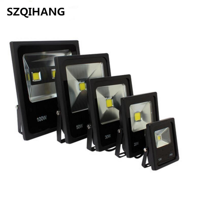 10W 20W 30W 50W Outdoor Floodlight Waterproof IP65 Wall Spotlight Exterieur Lamp Reflector Lighting