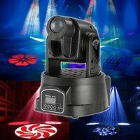 Klasikleri Mini Hareketli Kafa Işık 4 adet/grup 15 W LED Sahne Işıkları DMX 512 5/13 Kanal Lamba Için Parti