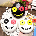 2017 Hot sale Cartoon Voodoo Doll Contact Lens Dual Case Container contact lenses mate box Glasses case Gift Idea A8078