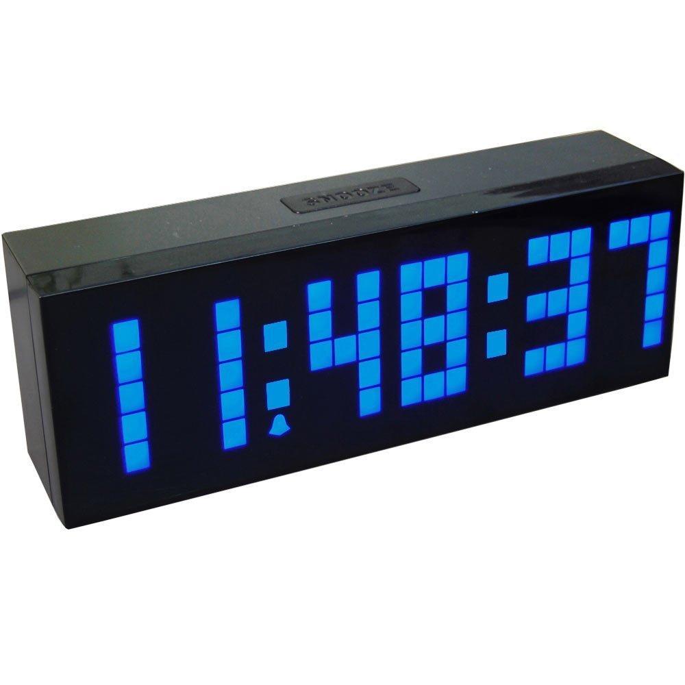 4 barve LED ura digitalna budilka stenska namizna mizica Novo - Dekor za dom - Fotografija 4