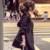 Señoras de Las mujeres del Otoño Rompevientos Delgadas 2017 Botones de Manga Larga Gabardina Impermeable Impermeable Ocasional Elástico de La Cintura Capa Larga