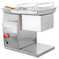VOSOCO Electric Meat Grinder Flaker Machine Stainless Steel Meat Cutter Blade Commercial Hotel Restaurant Sliced Meat